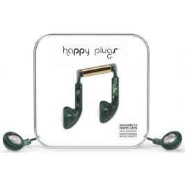 Happy Plugs Earbud Jade Green Marble