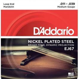 D'Addario Nickel Mandolin Strings Medium 11-39