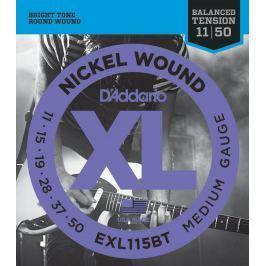 D'Addario EXL-115 BT Electric guitar set XL MEDIUM
