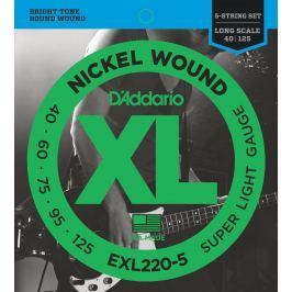 D'Addario EXL 220 5