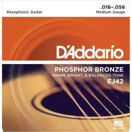 D'Addario EJ-42 Resonator Strings