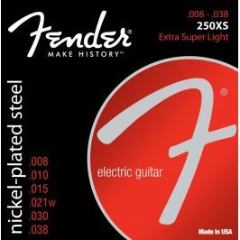 Fender Super 250's Nickel-Plated Extra Super Light