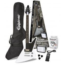 Epiphone PRO-1 Explorer Performance Pack Alpine White