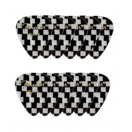 Fender 351 Shape Premium Picks Heavy Checker 12 Count