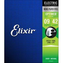 Elixir 19002 OPTIWEB Coating Super Light 9-42