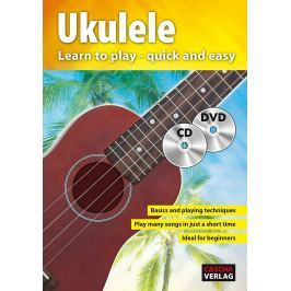 Cascha Ukulele Method with CD/DVD