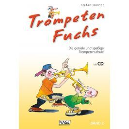 HAGE Musikverlag Trumpet Fox Volume 2 (incl. CD) German
