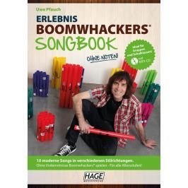 HAGE Musikverlag Experience Boomwhackers Songbook with MP3-CD