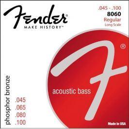 Fender Phosphor Bronze Bass Guitar Strings, Light 45-100