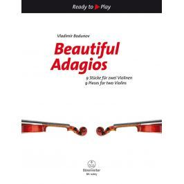 Bärenreiter Beatiful Adagios 9 Pieces for two Violins