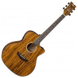 Dean Guitars AXS Exotic Cutaway A/E - Koa