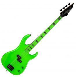 Dean Guitars Custom Zone Bass - Nuclear Green