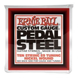 Ernie Ball Pedal Steel Nickel Wound 10-string E9 Tunning