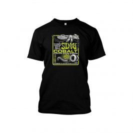 Ernie Ball 4738 Cobalt T-Shirt Black XL