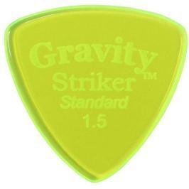 Gravity Picks GSRS15P Striker Standard 1.5mm Polished Fluorescent Green