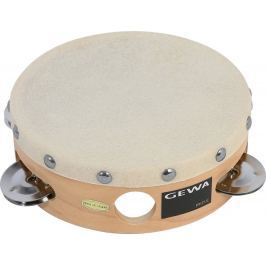 GEWA 841300 Tambourine Traditional with Shells 6''