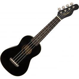 Fender Venice Soprano Ukulele Black