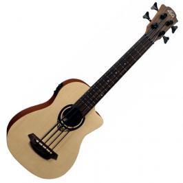 LAG TKB-150CE Tiki Uku Mini Bass Cutaway Acoustic Electric