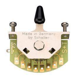 Schaller Megaswitch T (3-way) Nickel
