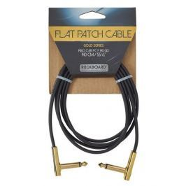 RockBoard Flat Patch Cable Gold 140 cm