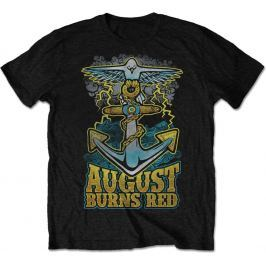 Rock Off August Burns Red Dove Anchor Mens Blk T Shirt: M