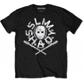Rock Off Eminem Shady Mask Mens Black T Shirt: L