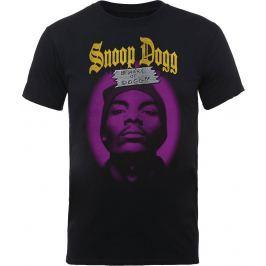 Rock Off Snoop Dogg Beware Of The Dog Mens Black T Shirt: L
