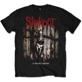 Rock Off Slipknot Grey Chapter Album Mens Blk T Shirt: S