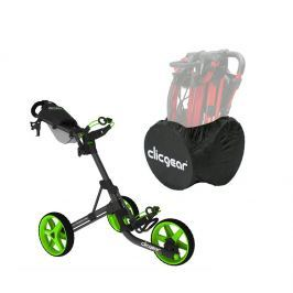 Clicgear 3.5 Charcoal/Lime SET