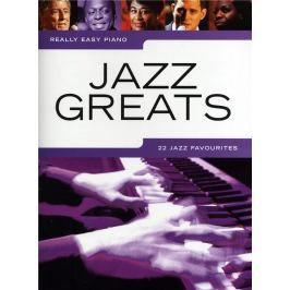 Music Sales Really Easy Piano: Jazz Greats - 22 Jazz Favourites