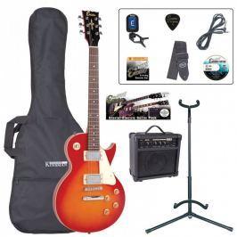 Encore EBP-E99CSB Electric Guitar Outfit Cherry Sunburst