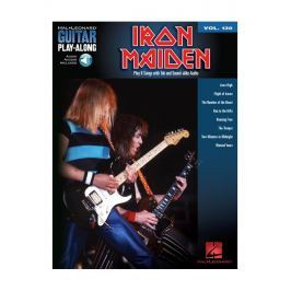 Hal Leonard Guitar Play-Along Volume 130: Iron Maiden