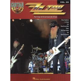 Hal Leonard Guitar Play-Along Volume 99: ZZ Top