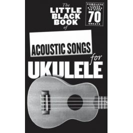 Music Sales The Little Black Songbook: Acoustic Songs For Ukulele