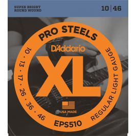 D'Addario EPS510 ProSteels Regular Light 10-46