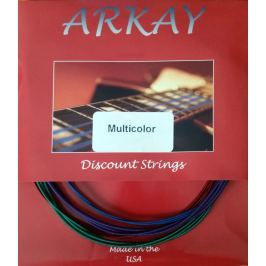 Aurora Arkay Standard Acoustic Guitar Strings 11-50 Blue
