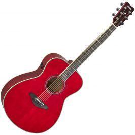 Yamaha FS-TA Ruby Red