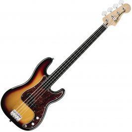 Fender Squier Vintage Modified Precision Bass Fretless 3 Color Sunburst