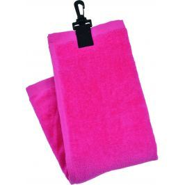 JS Int Three Fold Towel Pnk