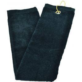 JS Int Three Fold Towel Blk