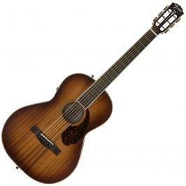 Fender PM-2E Parlor Limited All-Mahogany Antique Cognac Burst