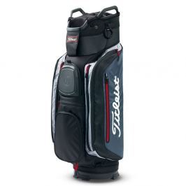 Titleist Club 14 Cart Black/Charcoal/Red