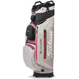 Titleist Stadry Deluxe Cart Black/Soap/Red