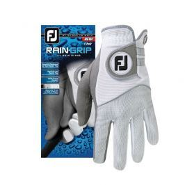 Footjoy Raingrip Mens Prs Gry/White L
