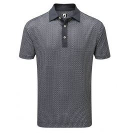 Footjoy Smooth Pique Paisley Charcoal XXL