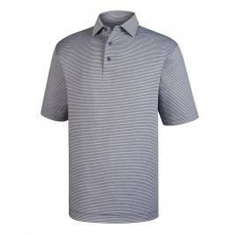 Footjoy Lisle Eng Pinstripe Heather Grey S