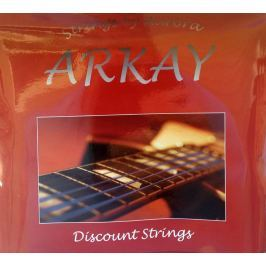 Aurora Arkay Standard Acoustic Guitar Strings 13-56 Black