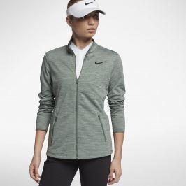 Nike Womens Dry Top Hz Clay Green/Black XS
