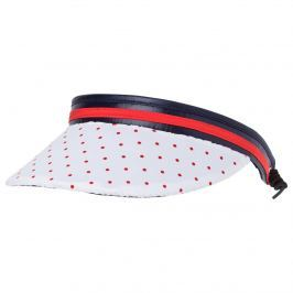 Golfino Womens Dot Print Cable Visor 575 OS