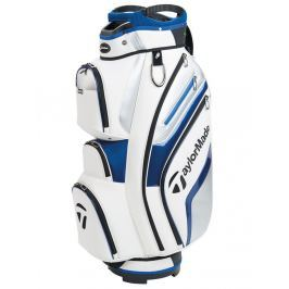 Taylormade TM18 TM Delux Cart White Blue